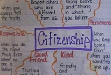 Citizenship / These are ideas for term 1 work around citizenship - class, school, town, country, world, digital citizenship as well.