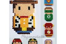 Hama Beads SuperEroi