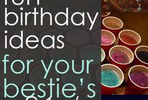 {Party Like its Yo Birthday} / Birthdays come only once a year, better make it the best celebration possible!