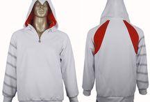 Assassin's Creed hoodies / Assassin's Creed desmond miles Brotherhood Ezio cosplay hoodies