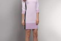 /Apparel/New-Arrivals/Dresses-Skirts/Colorblock-Three-Quarter-Sleeve-Ponte-Dress