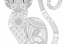 sketch and coloring pages