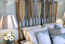 wood oar