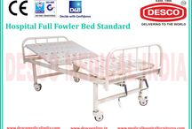Hospital Full Fowler Bed / We are involved in offering best quality of Hospital Folwer Bed. Our products known for its quality and durability. These folwer beds are extensively demanded among the customers and widely used in hospitals.