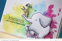 Stamping - Mama Elephant