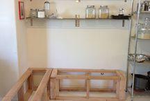 Kitchen nook / by Nancy Maze