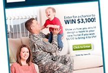 Home Design Sweepstakes USAA / by Giant Sis
