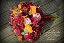 Fall Weddings - Autumnal Themed Bridal Flowers / A collection of Autumn (Fall) themed bridal flowers we have created previously for our gorgeous brides