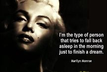 Marilyn Monroe Quotes / The wise words of the artist