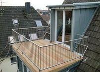 Dachterrasse  Ankleidezimmer