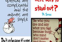 Dr Suess creations