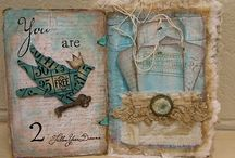 Art Journals & Scrapbooking / by Linda Matthews | Textile Art & Design