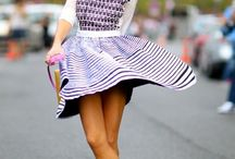 Sneakers pretty to wear with skirts
