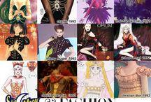 Mode et accessoires Sailor Moon / Toute la mode issue de l'univers de Sailor Moon, vêtements et accessoires moonesques pour femmes et hommes.