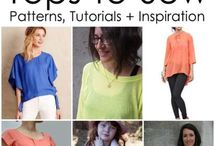 Clothing patterns / by DramaqueenSeams