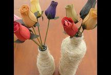Manualidades con cuerda (Rope Crafts) / Tutoriales de manualidades con cuerda