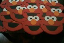 Elmo Party / Michelle's 2nd birthday -elmo theme ideas! / by Jessica Jarvi-Bergman