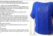 Blusas femininas em trico