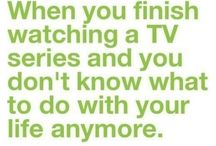 T.V Time Past & Present. / I've never been one for soap operas, but give me a good teen drama, or a funny sitcom, or an uplifting talk show, or some kick ass reality tv and I'm good to go!!  I'm slightly addicted to the Food Network, probably b/c I have NO IDEA how to cook!!