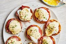 Always POACHED / Poached eggs are always on the BRUNCH table. Recipe and Food Styling.