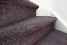 Goedkoop trap bekleden / Outlet Aanbiedingen trapbekleding van Desso parade tapijt en bonaparte tapijt