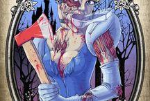 zombie (karpkraikaew) / terror y arte