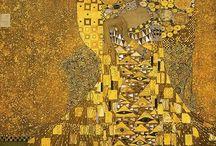 Gustav Klimt / A board devoted to the work of modernist painter Gustav Klimt.