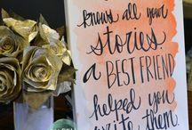 Gift/swap ideas