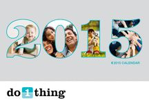 Do 1 Thing Calendar's / The many years of Do 1 Thing Calendars