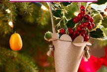 Easy to make Christmas ornaments