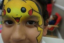 Face paint pokemon