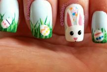 Easter Nails Inspirations - manicure na Wielkanoc