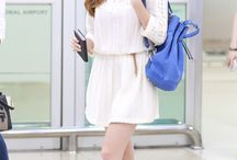 snsd and more airport fashion