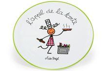 Une cuisine 100% Bretonne / Breizh ! / Quelques objets et ustensiles de cuisine aux couleurs de la Bretagne.