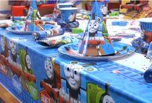 Thomas Tog tema / Stort udvalg af festartikler med Thomas Tog tema til børnefødselsdag og fest.