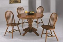 Dining Room / Great dining room pieces! More online at www.unclaimedfurnitureupstate.com / by Unclaimed Furniture Upstate