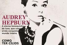 AUDREY HEPBURN / by Julez Lira
