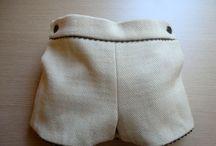 Psntalones cortos bebe