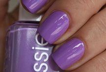 Polish: Purple Passion / Plum, grape, eggplant, and more - purple polish sets the mood.