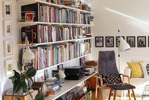 Book shelf system / Elfa system