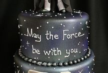 Star Wars bday cake
