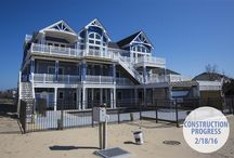OBX New Vacation Rentals / Outer Banks New Construction Vacation Rental Homes l Outer Banks Brand New Vacation Homes. l www.CarolinaDesigns.com - (800) 368-3825
