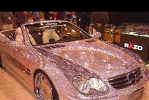 pink cars / gave auto's