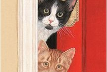 Cats - Art and Images / by Helen Keeler