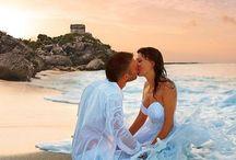 Foto perkawinan pantai