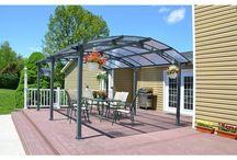 Garden Gazebo#Outdoor Structures#Pergola#Carport Canopy