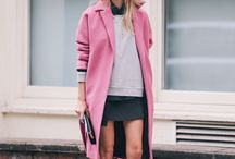 How to wear: The Pink Coat  / The cold weather continues and we find ourselves growing a bit bored of wearing the same few coats every day to combat the cold weather.  Try a pink coat to add a fresh spring take on your cold weather staple!
