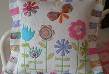 Cushions / Patchwork, quilted and embroidered cushions