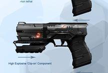 Concept Art: Guns