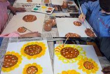 l'art à la maternelle
